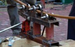 Изготовление трубогиба в домашних условиях — видео-инструкция