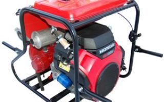 Пожарная мотопомпа: устройство, технические характеристики, выбор