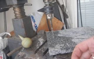 Сверло по граниту: как и чем сверлить гранит и другой камень