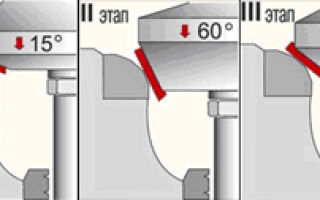 Шарошки для седел клапанов и другой инструмент для притирки клапанов двс
