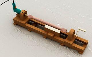 Фрезер из дрели своими руками: комплектующие и варианты сборки