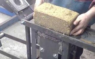 Топливные брикеты своими руками в домашних условиях: виды, видео
