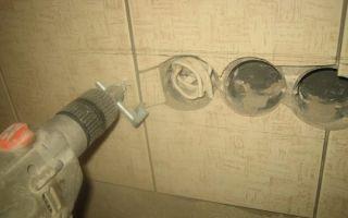 Сверло для плитки: сверлим керамику и кафель правильно — фото, видео