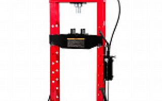 Ручной гидравлический пресс для автосервиса и гаража: виды, характеристики