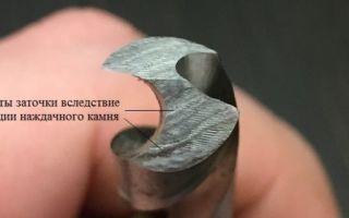 Угол заточки сверла по металлу: таблица и рекомендации