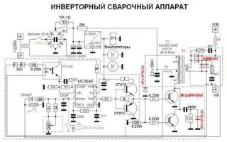 Схема сварочного инвертора – принципиальная схема инверторной сварки