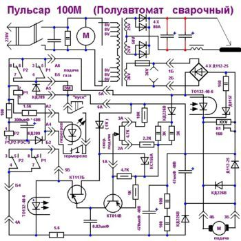Полуавтомат из инвертора своими руками: схема, видео, фото