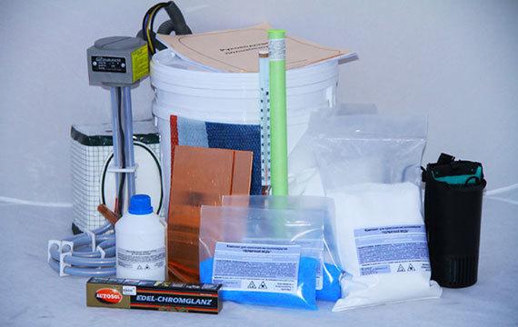 Химическое хромирование в домашних условиях: технология, видео