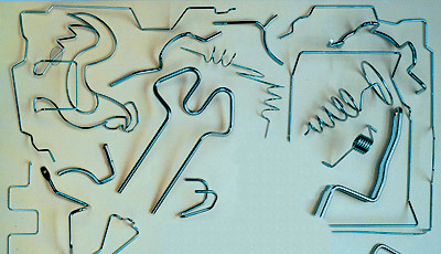 Гибка проволоки: станки для гибки проволоки и ручные методы
