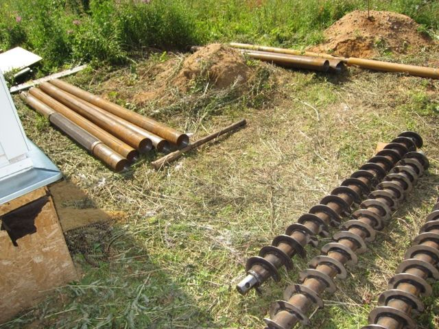 Буронабивные сваи с обсадной трубой: технология устройства, видео