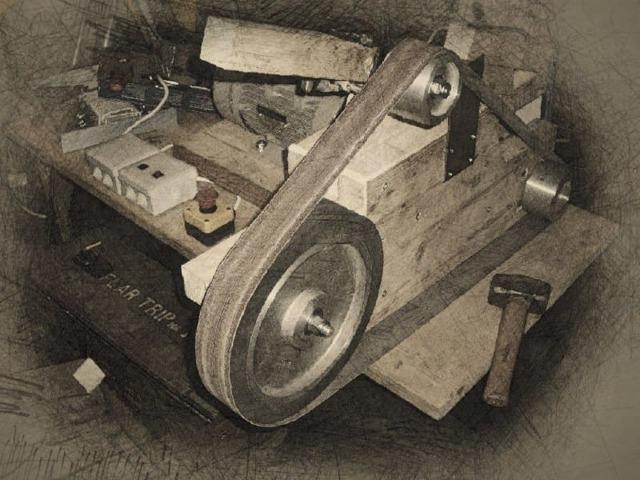Ленточный гриндер своими руками – чертежи ленточно-шлифовального станка