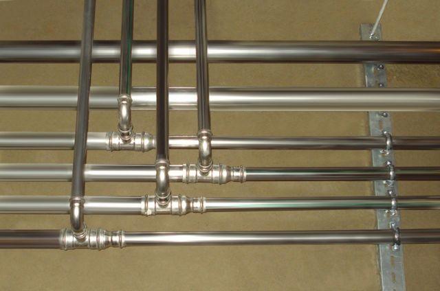 Трубы из нержавейки для водоснабжения и отопления: виды, монтаж