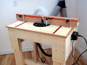 Фрезерный стол своими руками – чертежи, видео, фото