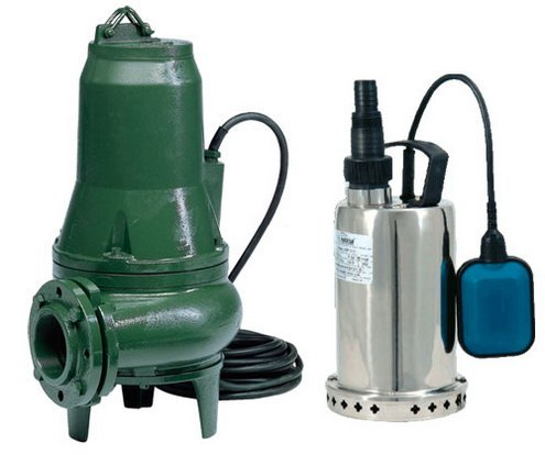 Дренажные насосы для канализации: виды насосов для откачки, правила выбора