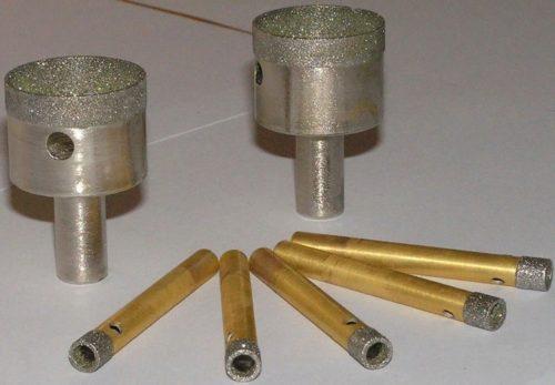 Алмазное сверло: виды и особенности сверл с алмазным напылением