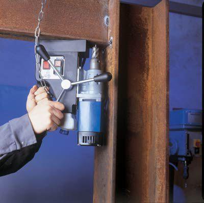 Магнитный сверлильный станок: типы станков на магнитной подошве