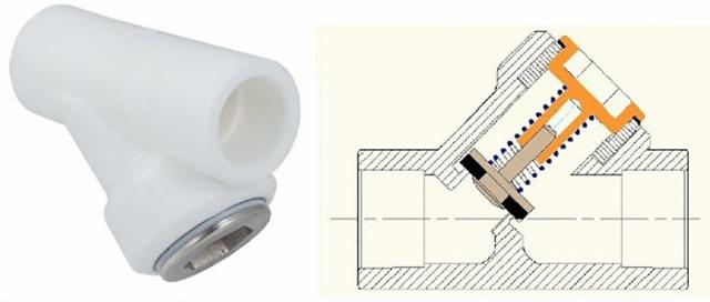 Клапан обратный муфтовый: назначение, принцип работы, монтаж
