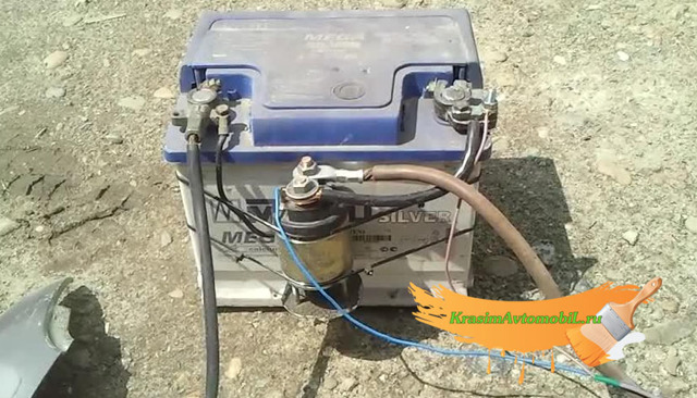 Споттер из аккумулятора своими руками – схема, видео, фото