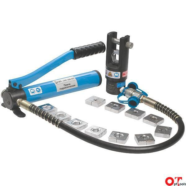 Пресс гидравлический ручной для опрессовки кабельных наконечников: виды, конструкция, особенности выбора