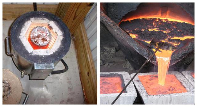 Температура плавления меди – при какой температуре плавится медь