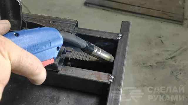 Как сделать подкатной домкрат своими руками