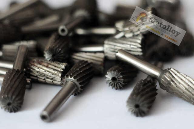 Борфрезы по металлу: виды, конструкция, применение