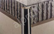 Латунный профиль: хромированный, Т-образный, витражный, для плитки