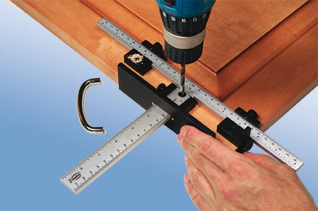Кондуктор для сверления отверстий своими руками: шаблон для сборки мебели