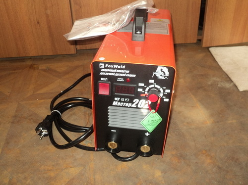 foxweld master 202: сварочный аппарат инверторного типа