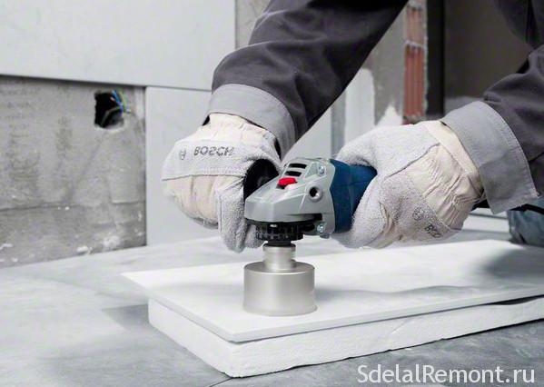 Сверло по керамограниту: как и чем сверлить керамогранитную плитку – фото, видео