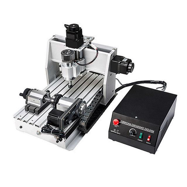 Настольный фрезерный станок с ЧПУ по металлу: универсальное мини-оборудование