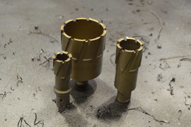 Корончатые сверла по металлу и твердосплавные коронки: виды, выбор