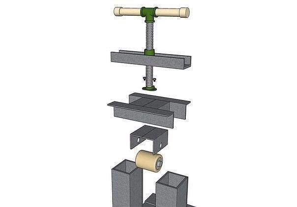 Изготовление трубогиба в домашних условиях - видео-инструкция