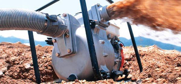 Мотопомпа для грязной воды: бензиновая, дизельная - особенности, применение, выбор
