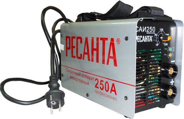 Ресанта САИ-250 – сварочный инвертор для качественной сварки