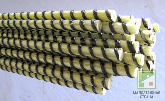 Стеклопластиковая арматура для фундамента: правила армирования
