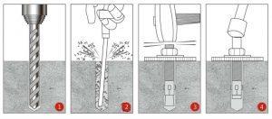 Как вытащить анкерный болт из стены: рекомендации и видео