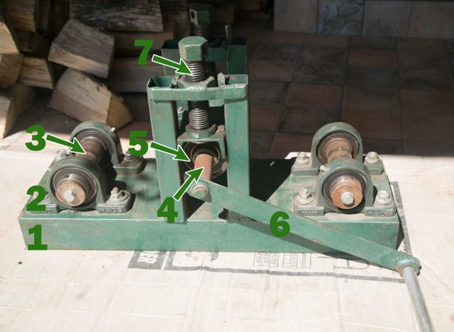 Изготовление станка для холодной ковки: видео-инструкция