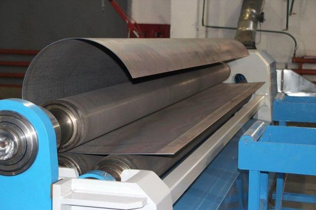 Вальцовочный станок для листового металла: виды, особенности