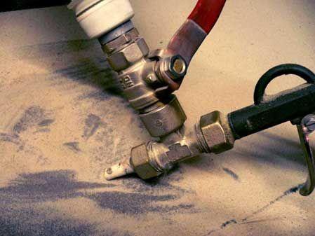 Пескоструйный аппарат своими руками: чертежи, видео, фото