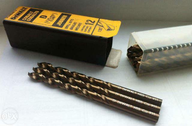 Кобальтовые сверла по металлу и нержавейке: типы, характеристики