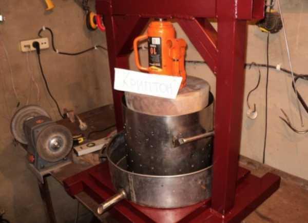 Гидравлический пресс своими руками – изготовление самодельного гидропресса из домкрата